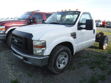 2008 FORD F350 CAB & CHASSIS, 175,378 MILES  SUPER DUTY, V8 POWER STROKE DI