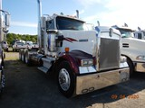 1998 KENWORTH W900L HAUL TRUCK TRACTOR, 143,763 MILES ON METER  DAY CAB, CA