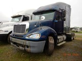 2003 FREEIGHTLINER COLUMBIA TRUCK TRACTOR,  CONDO SLEEPER, DETROIT DIESEL,