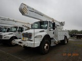 2008 FREIGHTLINER BUSINESS CLASS M2 BUCKET TRUCK, 60,693 MILES  CUMMINS ISB
