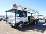 2007 INTERNATIONAL 4300 BUCKET TRUCK, 85K+ MILES  DT466 DIESEL, MANUAL 6 SP