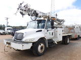 2007 INTERNATIONAL 4300 DIGGER TRUCK, 56,800+ MILES  DT466 DIESEL, 6 SPEED,