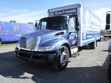 2010 INTERNATIONAL 4300 BOX TRUCK, BLUE 340,963 MILES  IH DIESEL, AUTOMATIC