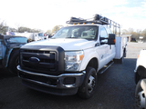 2013 FORD F350 SERVICE TRUCK, 140,280  MILES  4X4, 4-DOOR, POWER STROKE 6.7