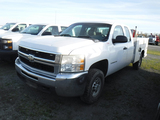 2009 CHEVROLET 2500 HD SERVICE TRUCK, 255K+ MILES  EXTENDED CAB, V8 GAS, AT