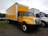 2012 INTERNATIONAL 4300 DURASTAR BOX TRUCK, 230,780 MILES  IH DT466 DIESEL,