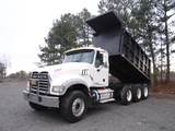 2008 MACK GRANITE DUMP TRUCK, 364,978 Miles, 16,963 Hours  MACK MP89 DIESEL