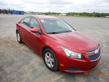 2011 CHEVROLET CRUZE LT CAR, 189K+ MILES  4 CYLINDER GAS, AT, PS, AC S# 333