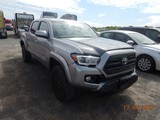 2017 TOYOTA TACOMA PICKUP TRUCK, 58,412 miles  QUAD CAB, V6 GAS, AT, PS, AC