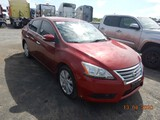 2013 NISSAN SENTRA CAR, 91k+ miles  4 CYLINDER GAS, AT, PS, AC S# 61252