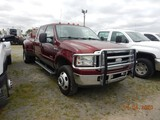 2006 FORD F350 DUALLY PICKUP TRUCK, 188824 mile  CREW CAB, DIESEL, 4X4, AT,