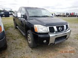 2004 NISSAN TITAN PICKUP TRUCK, 205K+ MILES  4X4, EXTENDED CAB, V8 GAS, AT,