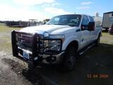 2011 FORCE 5 F250 PICKUP TRUCK, 210K+ MILES  CREW CAB, 4X4, POWERSTROKE DIE