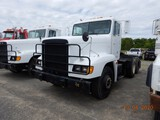 1992 FREIGHTLINER TRUCK TRACTOR, 25,209 MILES  DAY CAB, DETROIT 60 SERIES D