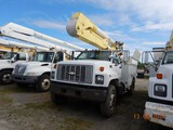 2000 CHEVROLET C7500 BUCKET TRUCK, 111,689+ MILES  CAT 3126, ALLISON AUTO,