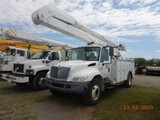 2008 INTERNATIONAL 4300 BUCKET TRUCK, 73900k+ miles on meter  DT466 DIESEL,