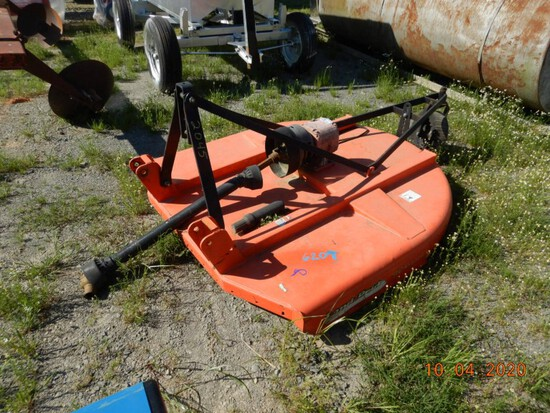 2008 LAND PRIDE ROTARY CUTTER,  6', 3 POINT S# 826-383C
