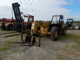 CATERPILLAR TH460B TELESCOPIC FORKLIFT, HOURS N/A  ENCLOSED CAB, 4X4X4, 8,0