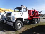1981 FORD 8000 PRESSURE DIGGER/DRILL TRUCK,