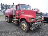 1997 MACK CH613 WATER TRUCK, 442K+ MILES  MACK E7-350, MACK T2090 9 SPEED,
