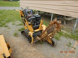 2014 VERMEER RTX 100 WALK BEHIND TRENCHER, 22 HRS ON METER  RUBBER TRACKS,