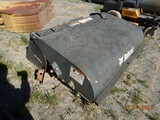 BOBCAT SWEEPER,  SKID STEER ATTACHMENT, 6' S# 783742344