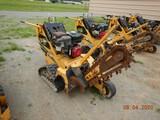 VERMEER RTX 100 WALK BEHIND TRENCHER,  RUBBER TRACKS, HONDA GAS ENGINE, DIR