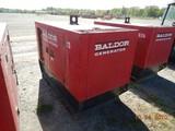 2008 BALDOR TS25 PORTABLE GENERATOR, 10,817 HRS  4 CYLINDER ISUZU DIESEL, 2
