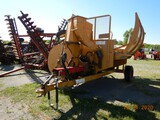 DURATECH HAYBUSTER 2564 ROUND BALE PROCESSOR,  REAR BALE LOADER, ***RECENT