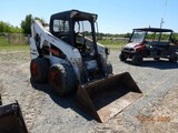 2015 BOBCAT S650 SKID STEER LOADER, 2899 hrs  ROPS CAGE, AUX. HYDRAULICS, S