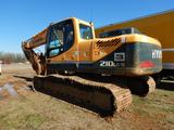 "2012 HYUNDAI ROBEX 210LC-9 EXCAVATOR, 6368 HRS ON METER  CAB, AC, HEAT, 48"""