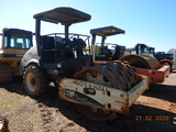 """2006 INGERSOLL RAND SD70 ROLLER, 3700+ HRS  60"""" PADFOOT DRUM, CANOPY, S# 19"""