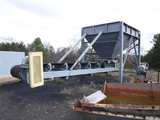 LOADING HOPPER & (1) CONVEYOR & SUPPORTS,  **SELLS ABSENTEE**, REPO LOCATED