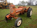 ALLIS CHALMERS D14 WHEEL TRACTOR,  3 POINT, PTO, 4 CYLINDER GAS ENGINE, UNV