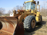 CATERPILLAR 966D WHEEL LOADER,  ARTICULATED, CAB, GP LOADER BUCKET S# 99Y03