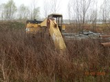 CATERPILLAR EL240 B EXCAVATOR,  ***SALVAGED*** S# N/A, UNVERIFIED MILES & H
