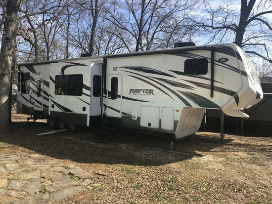 2013 Keystone Raptor 45' Travel Trailer