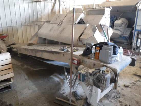 2007 Cee-Jay Saw-Veneer-30 Stone Saw, S#07202, with 24E Conveyor & Digital