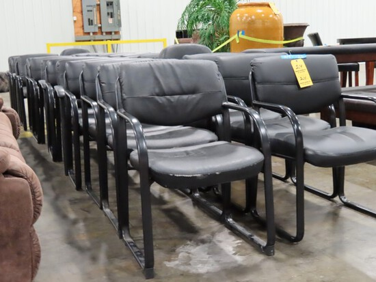 LOT OF (25) OFFICE CLIENT CHAIRS