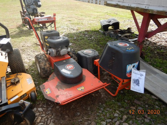 ER ALL TERRAIN MOWER,  GAS ENGINE, SELF PROPELLED,  SELLS WITH A DR GENERAT