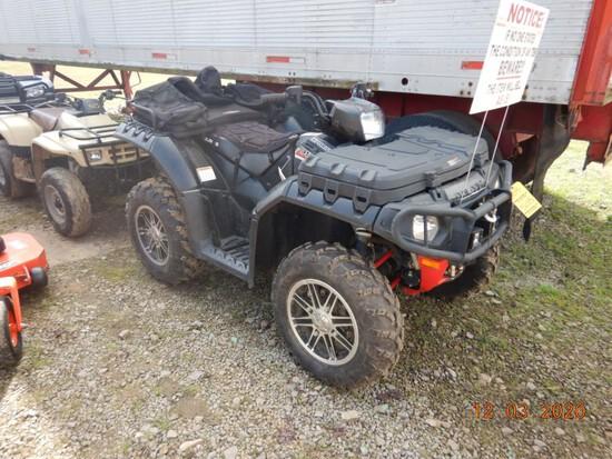 POLARIS SPORTSMAN 550 FOUR WHEEL ATV, 300+ MILES  4X4