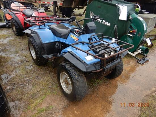 SUZUKI QUAD RUNNER FOUR WHEELER ATV,  4X4