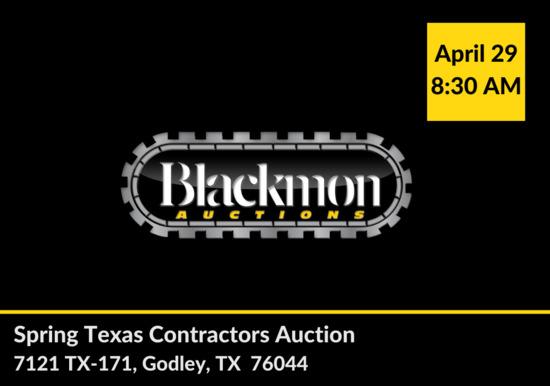Texas Contractors Auction