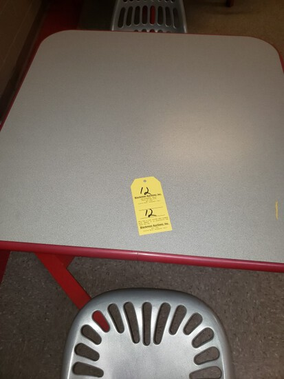 (2) INDOOR BREAK ROOM TABLES WITH CHAIRS