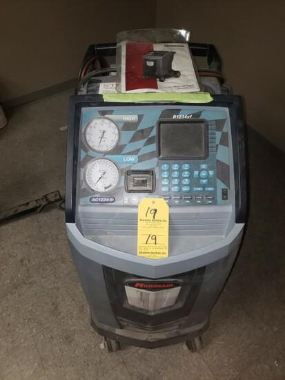 ROBINAIR AC-1234-4 PREMIER FREON RECOVERY/RECYCLE MACHINE,  R1234YF