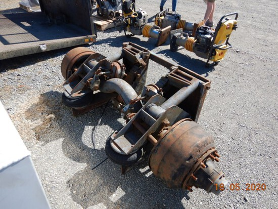 AIR LIFT PUSHER AXLE