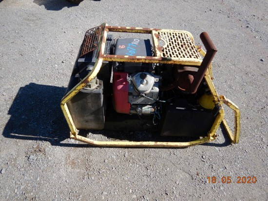 STANLEY RAILWAY PRODUCTS HYDRAULIC POWER PACK,  HONDA GAS ENGINE, ELECTRIC