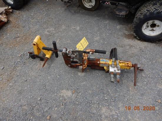MATWELD MODEL 1500 RAIL DRILL  WITH MOUNT, HYDRAULIC