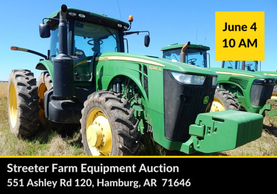 Streeter Farm Equipment Auction
