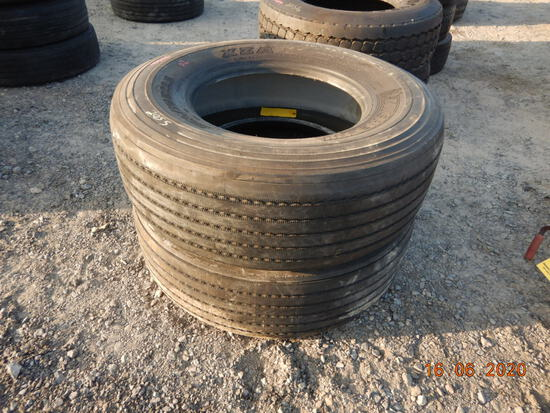 (2) 365/22.5 TIRES  (LOCATED AT BLACKMON YARD, 425 BLACKMON ROAD, LONOKE, A